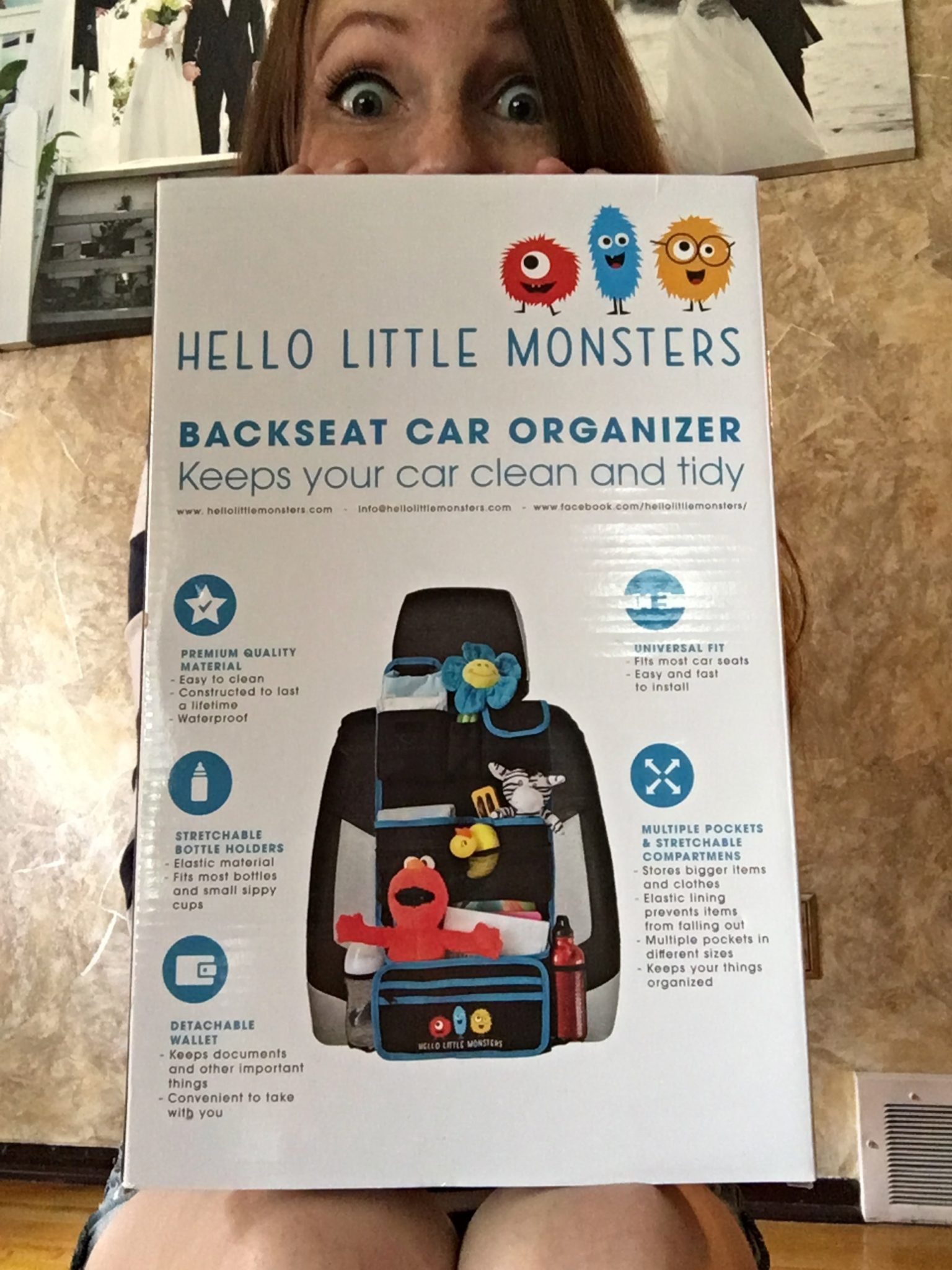 Review & GIVEAWAY! Featuring 'Hello Little Monsters'