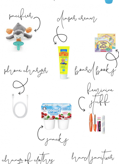 11 Diaper Bag Essentials To Save Your Sanity