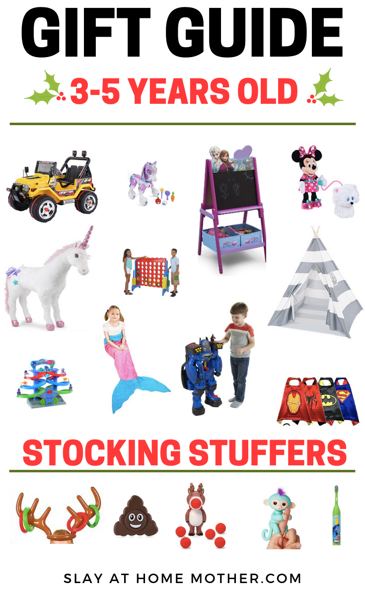 Kids Christmas Gift Guide - #giftguides #slayathomemother #toddler #christmas SLAYathomemother.com
