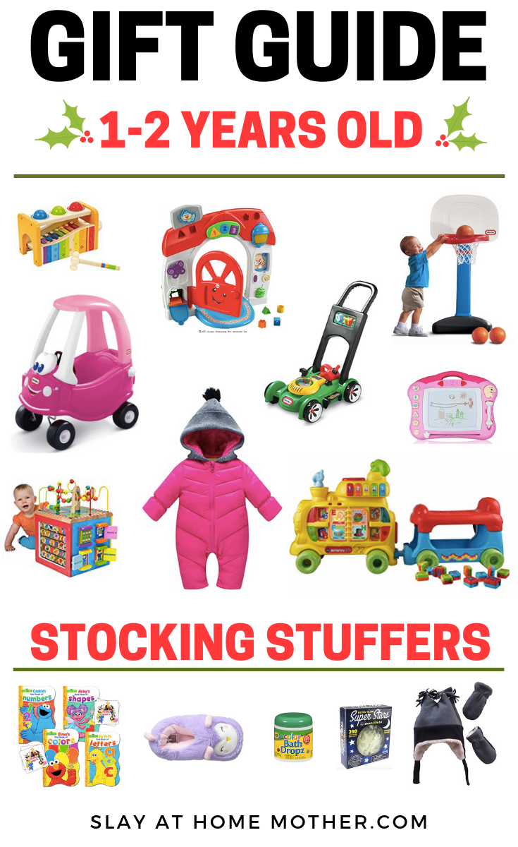 Toddler Christmas Gift Guide - #giftguides #slayathomemother #toddler #christmas SLAYathomemother.com