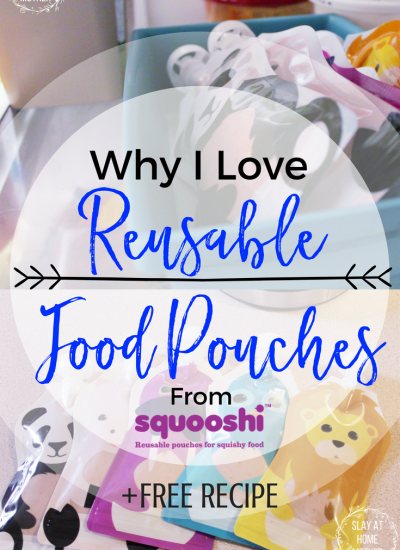 Squooshi Reusable Food Pouches +FREE RECIPE