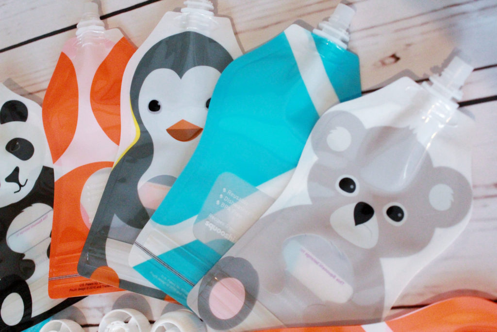 Squooshi Reusable Toddler Pouches [Feature + Recipe] - slayathomemother.com