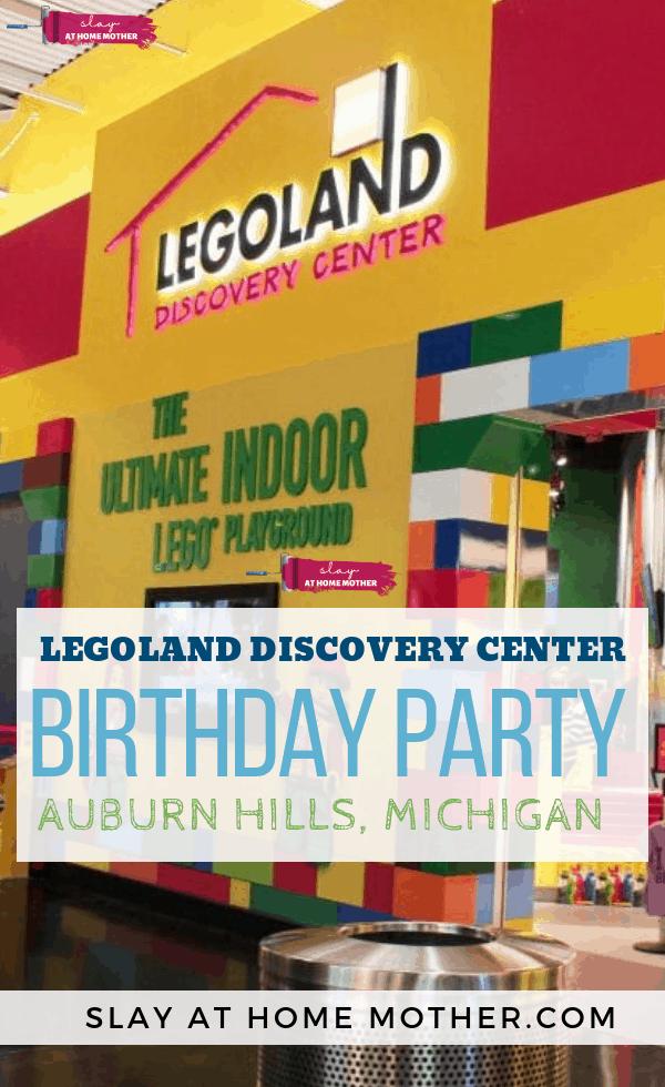 Legoland Discovery Center Birthday Party In Auburn Hills, MI #greatlakescrossing #legoland #slayathomemother - SLAYathomemother.com