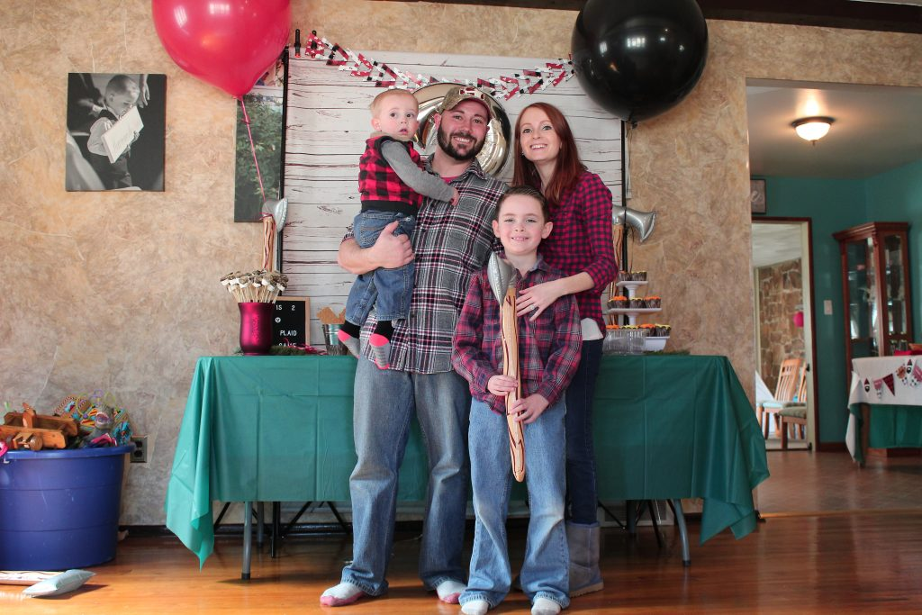 Jax's Lumberjack Birthday Bash - SlayAtHomeMother.com #lumberjackparty #2ndbirthdayparty #lumberjackbirthday