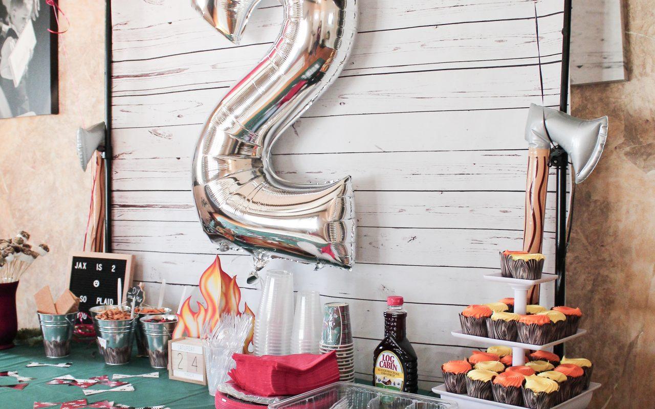 Jaxsons' 2nd Birthday – Lumberjack Bash