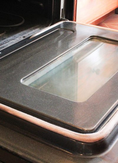 How To Clean Your Oven Door Glass When Baking Soda Won't Cut It