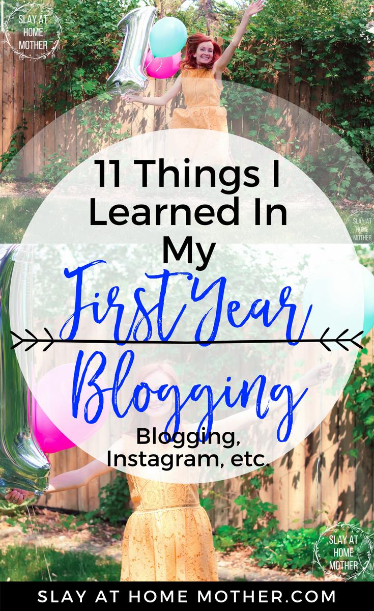 1st Blogging Anniversary!