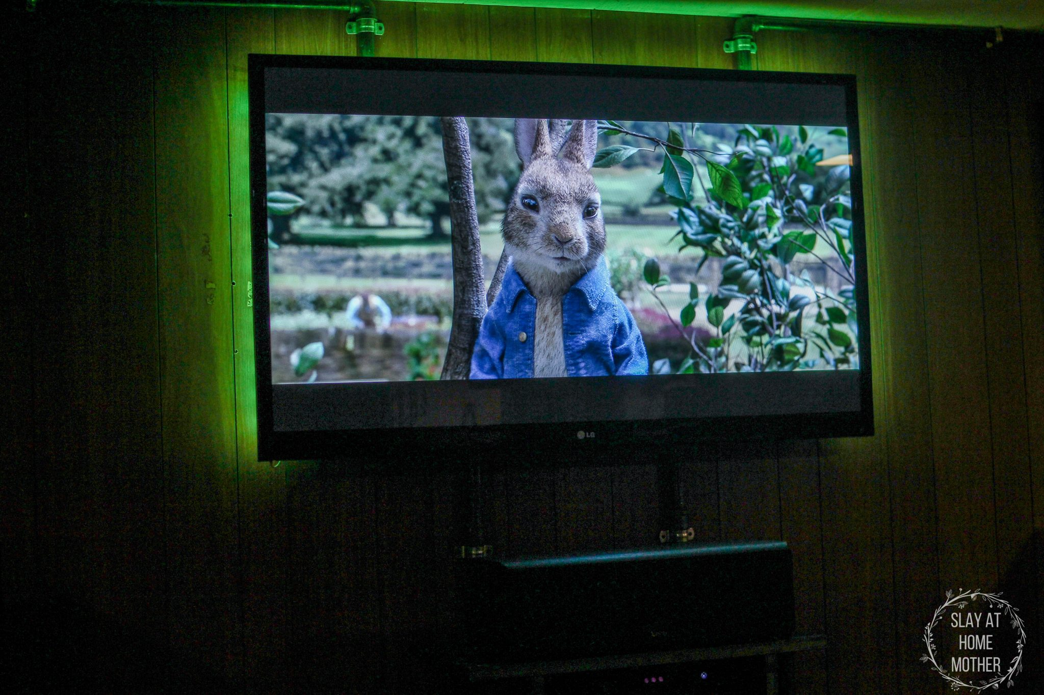 Family Night In According To My 8-Year-Old #welcometofamilynight #peterrabbit - SlayAtHomeMother.com