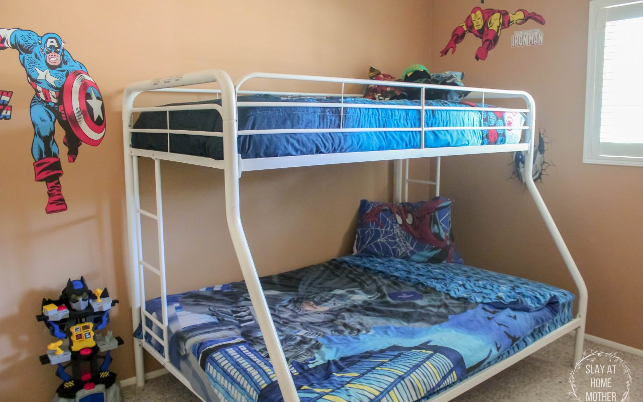 Our Boys' New Shared Bedroom