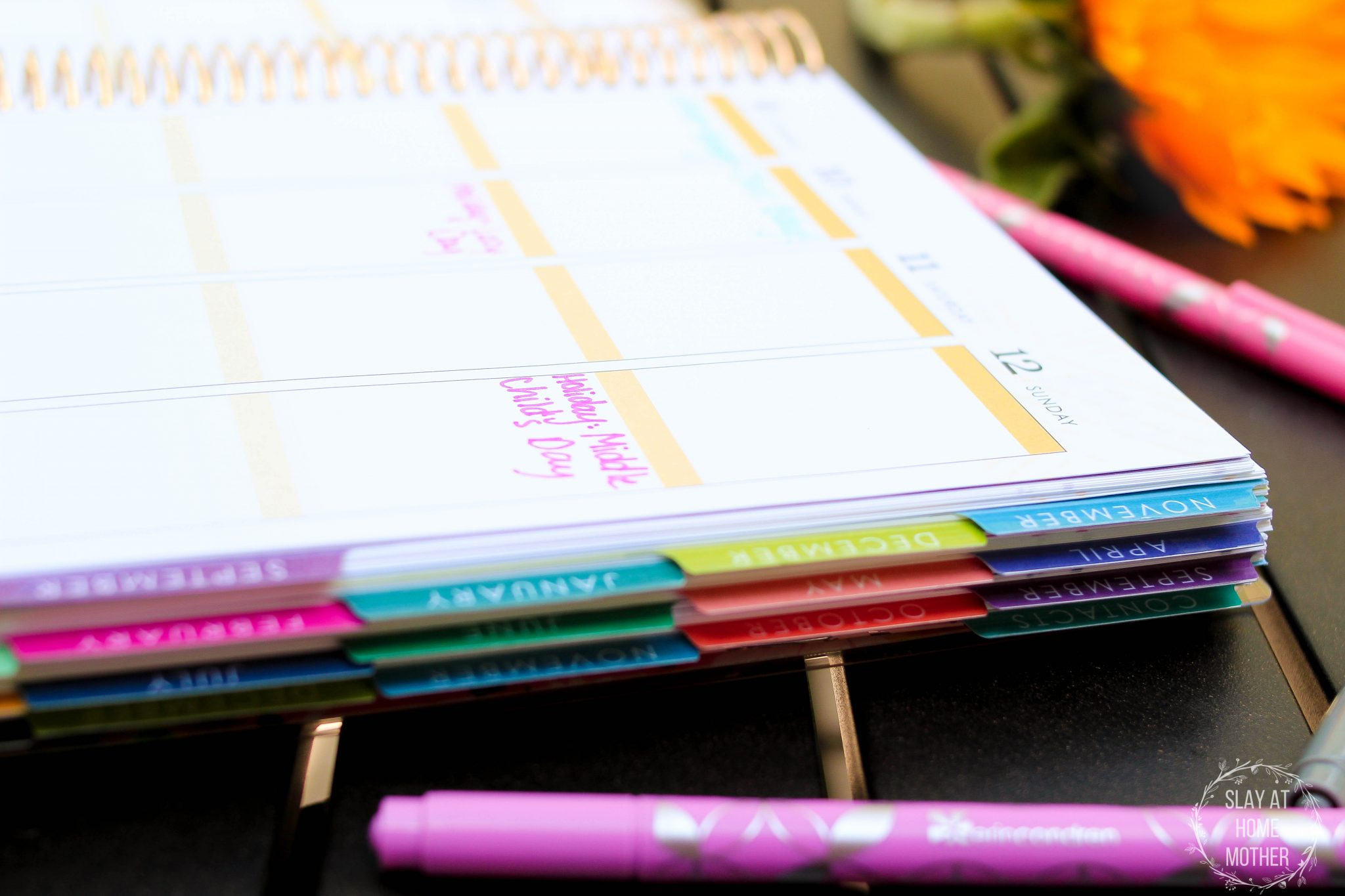 Organizing My Hectic Life With My LifePlanner from Erin Condren - SlayAtHomeMother.com
