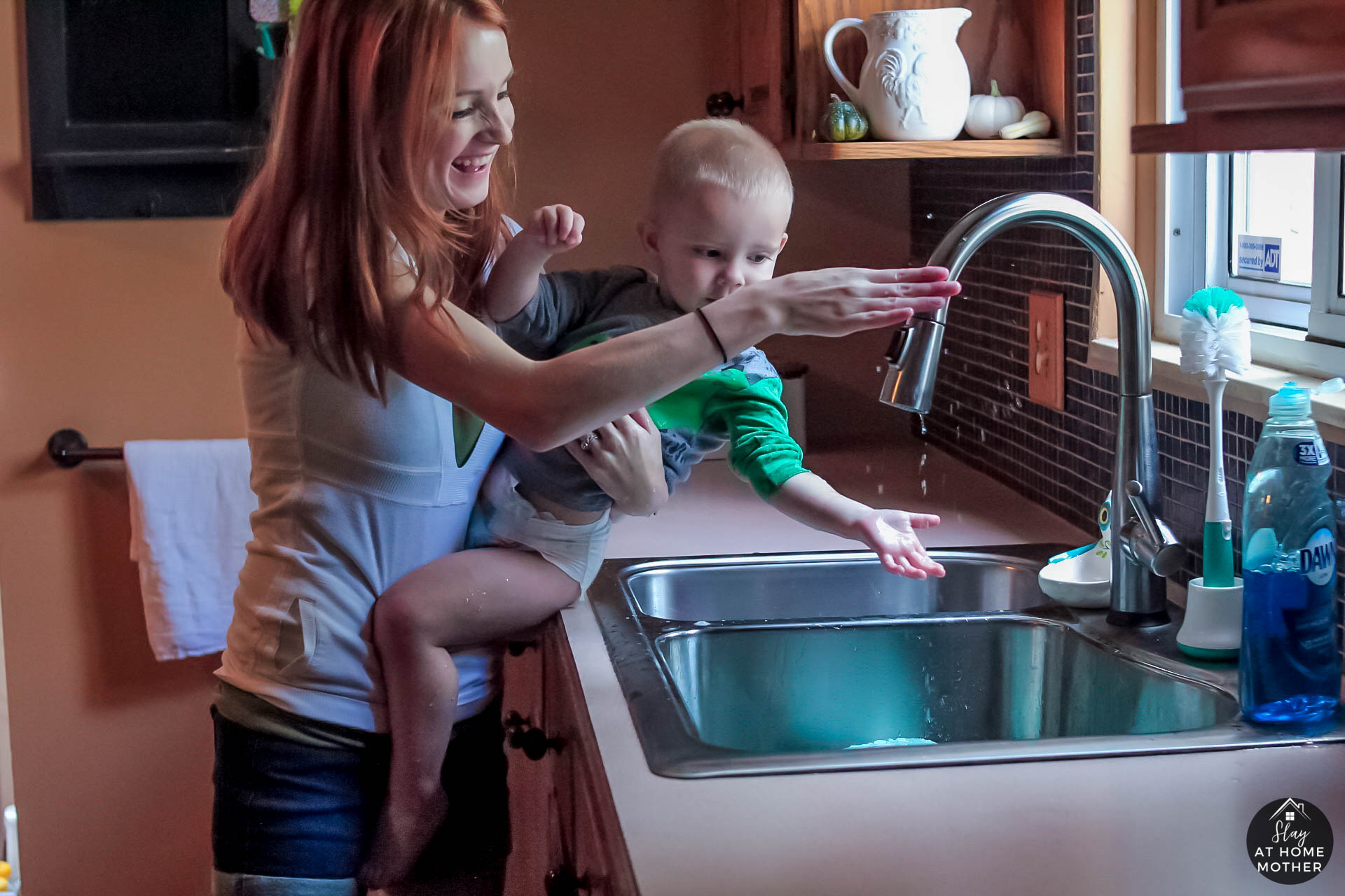 Upgrading My Sink With eFaucets - SlayAtHomeMother.com