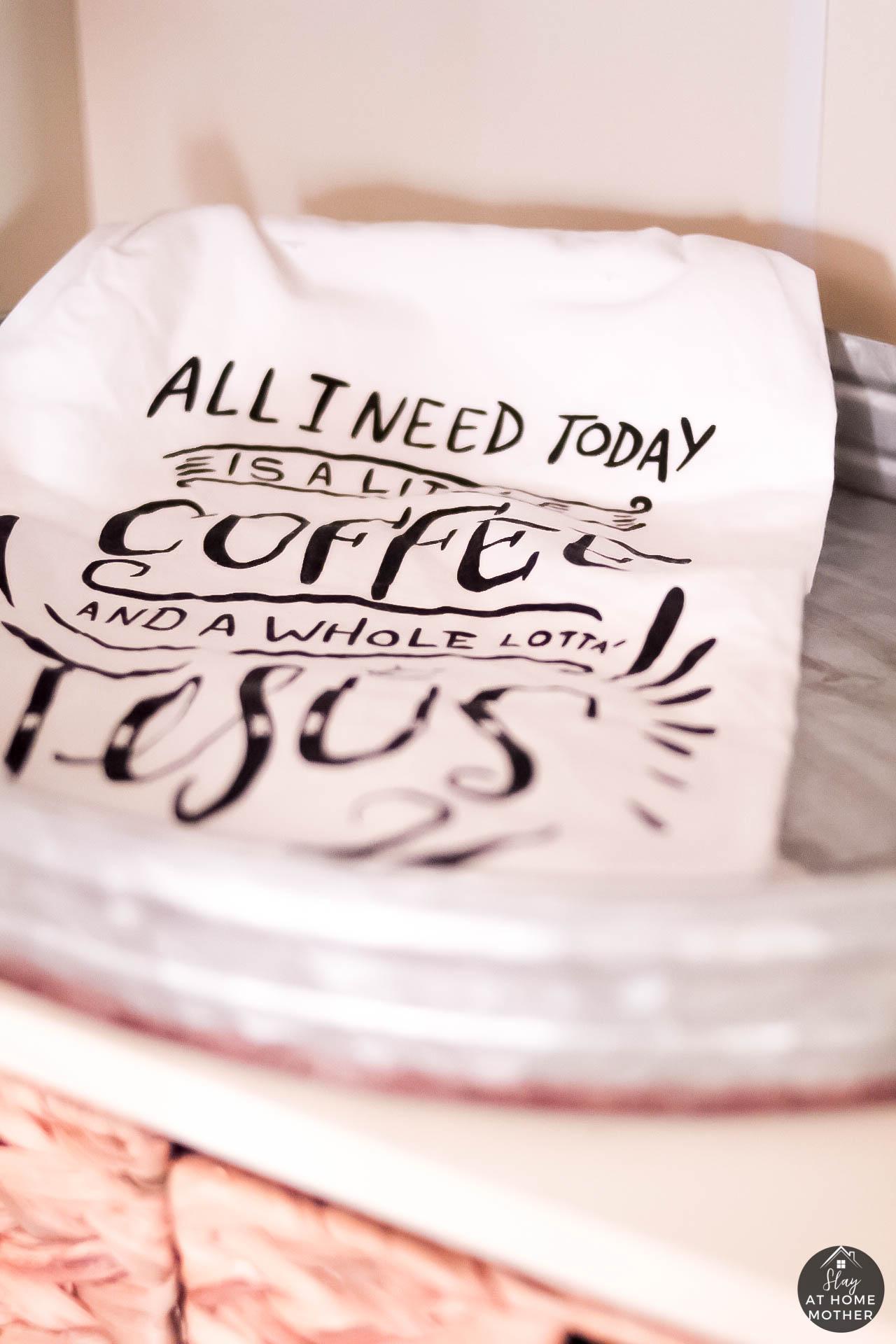 Farmhouse Coffee Bar - SlayAtHomeMother.com