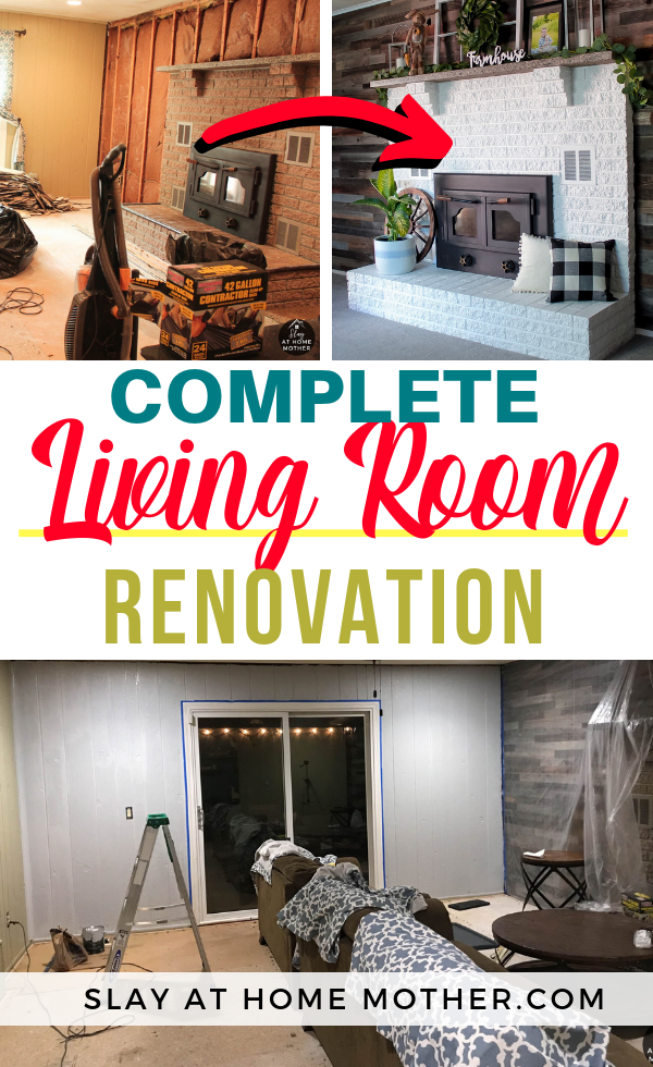 Living Room Renovation - SLAYathomemother.com
