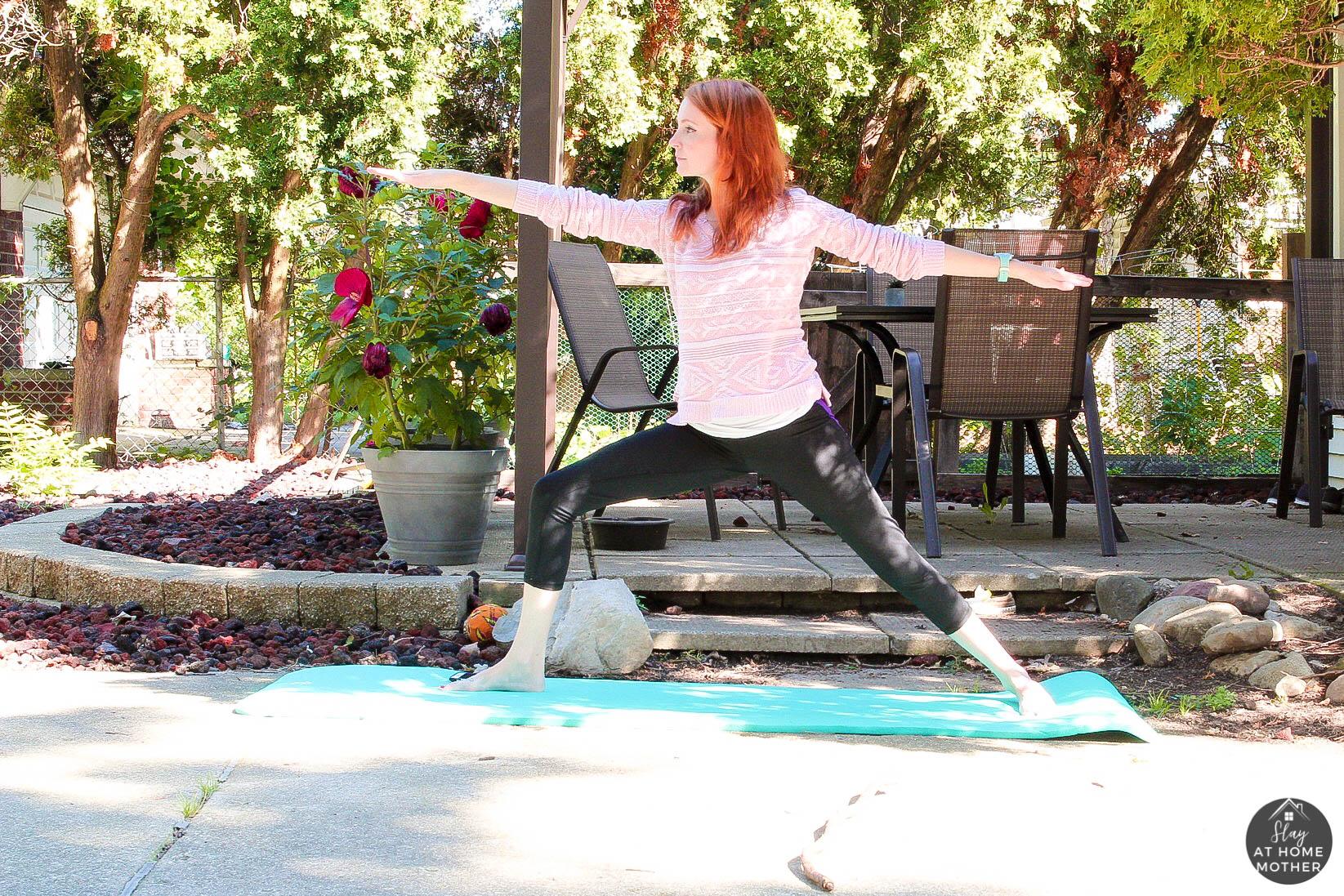 Fertility Yoga Poses #fertilityyoga - SlayAtHomeMother.com