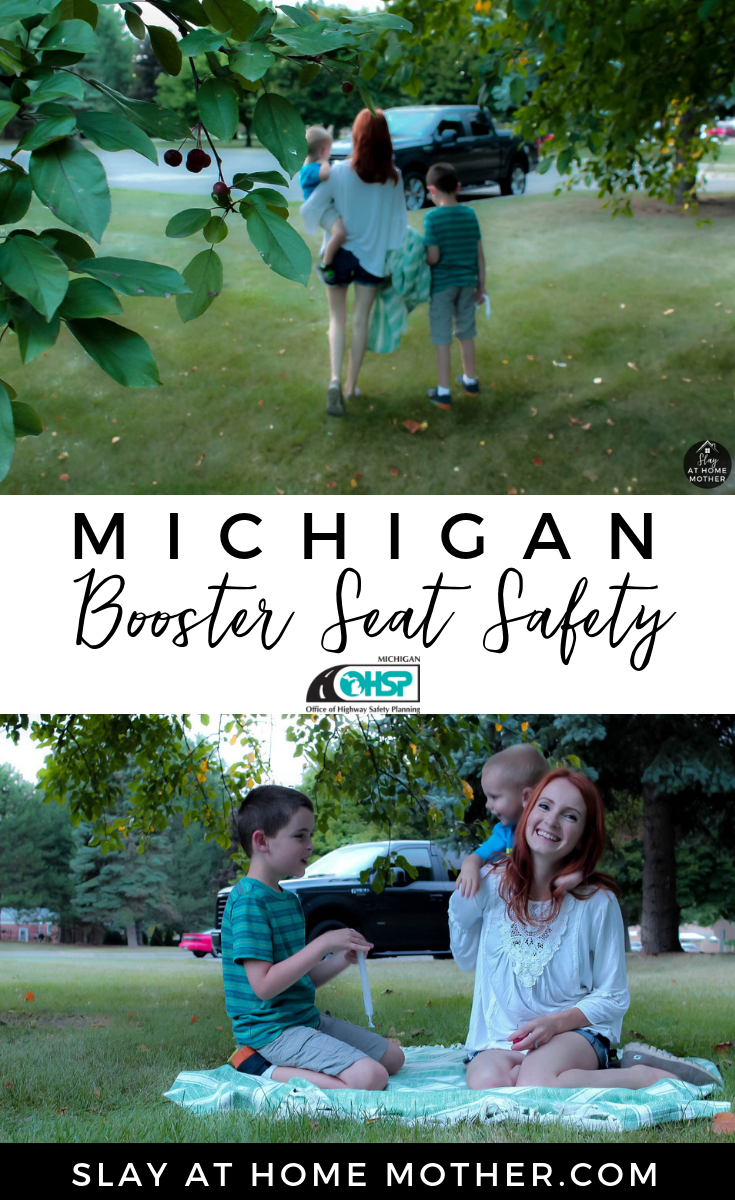 Michigan Booster Seat Safety -From The MI OHSP #ad - SlayAtHomeMother.com