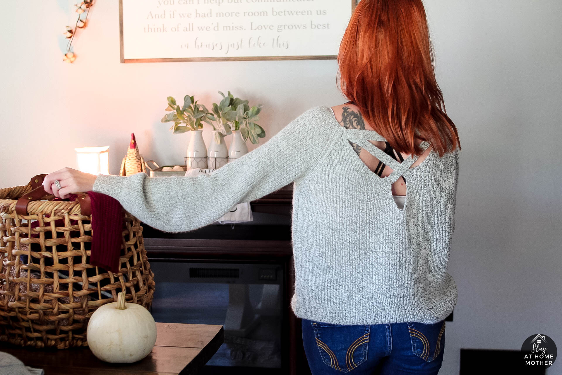 Fall Sweater Haul - #sweaterweather #shoppinghaul SlayAtHomeMother.com