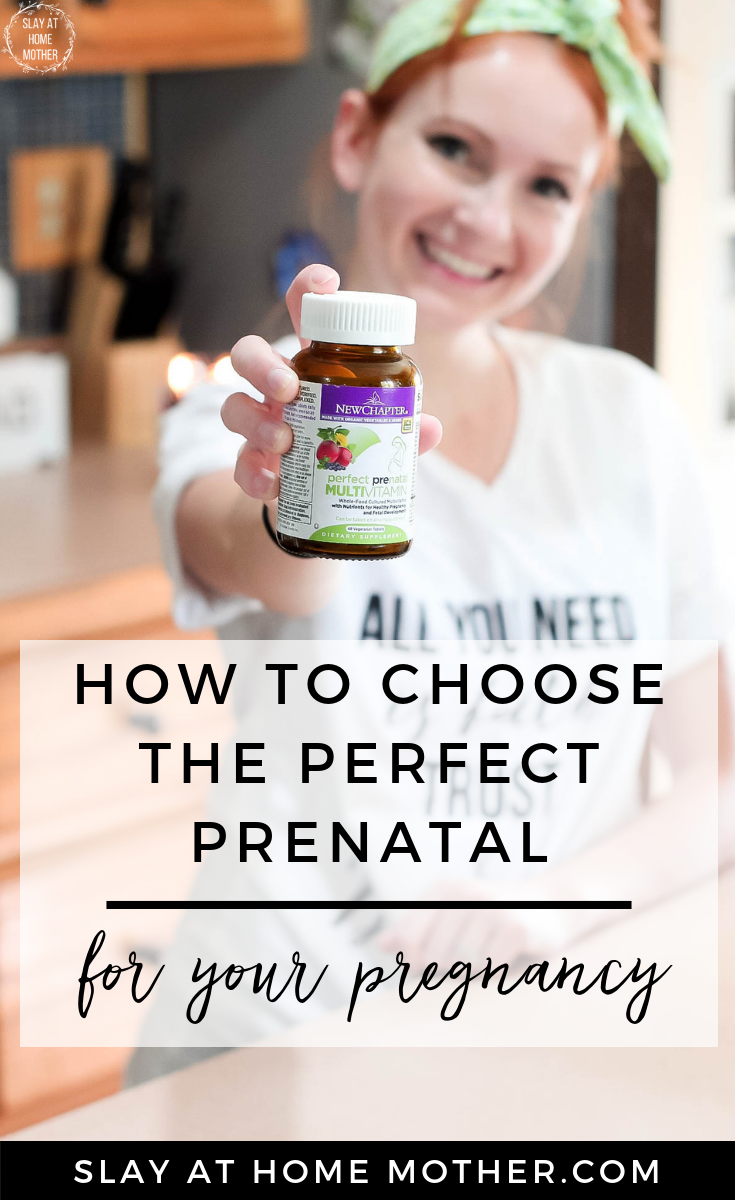 4 Things To Consider When Choosing prenatal vitamins for pregnancy -- SlayAtHomeMother.com #newchaptervitamins #sponsored #slayathomemother #prenatals #ttc