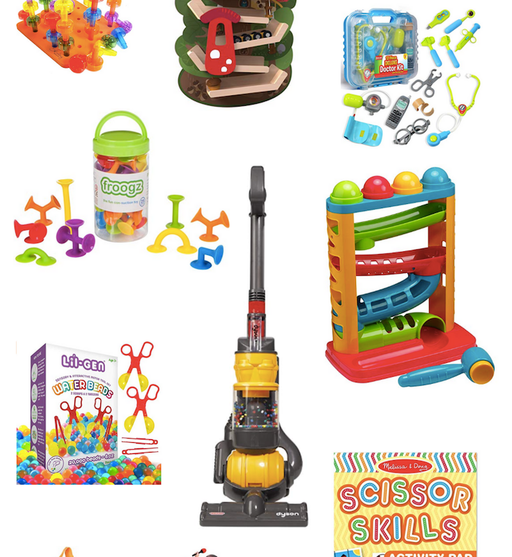 Toddler Christmas Gift Guide - #toddler #giftguide #slayathomemother #christmasgifts SlayAtHomeMother.com