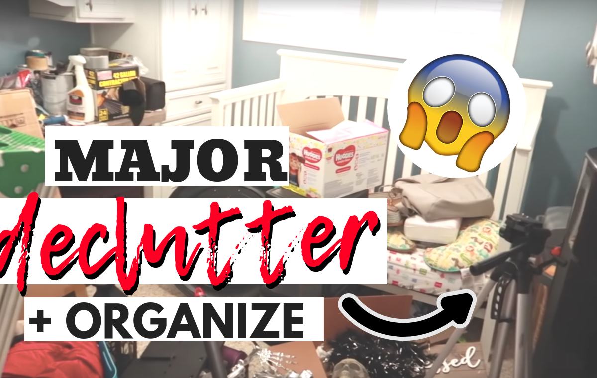 Declutter With Me - SlayAtHomeMother.com