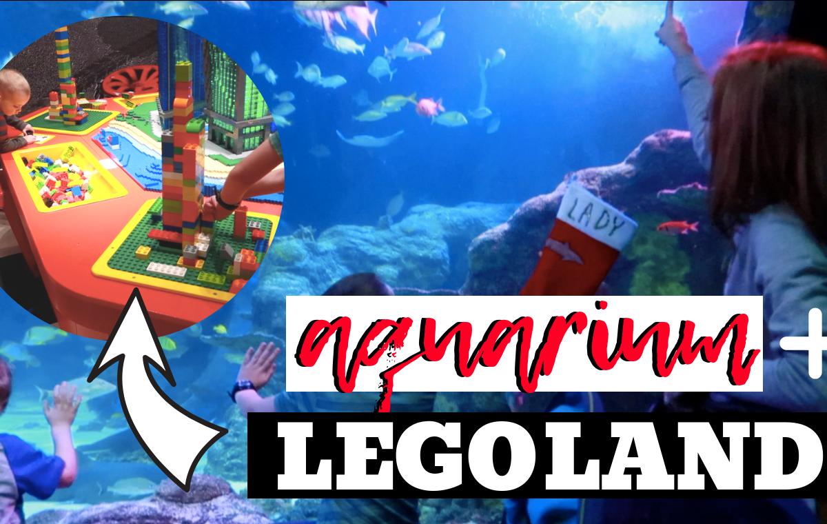 Legoland Discovery Center + Sealife Aquarium + Rainforest Cafe -SlayAtHomeMother.com