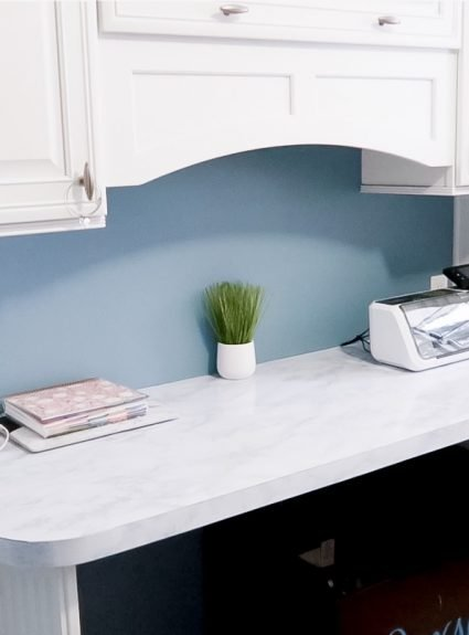 DIY Marble Counters With Contact Paper