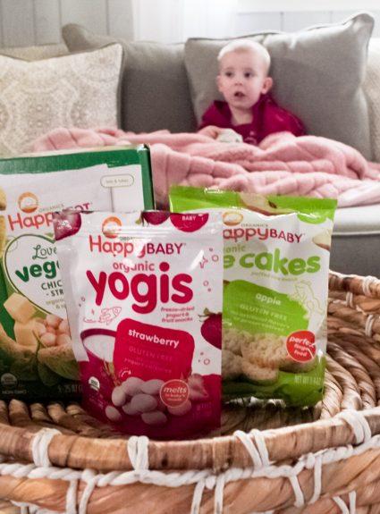 Choosing Organic Snacks For Our Littles