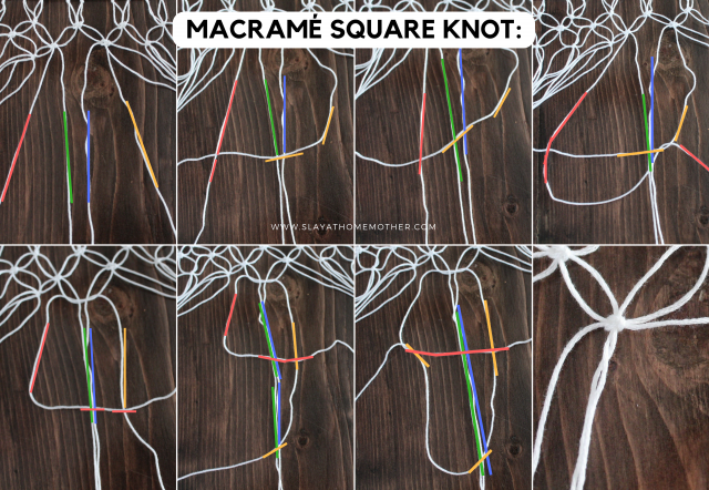MACRAME SQUARE KNOT- SlayAtHomeMother.com