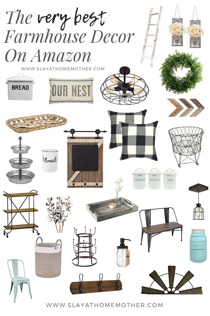 The Best Farmhouse Finds On Amazon Slay At Home Mother