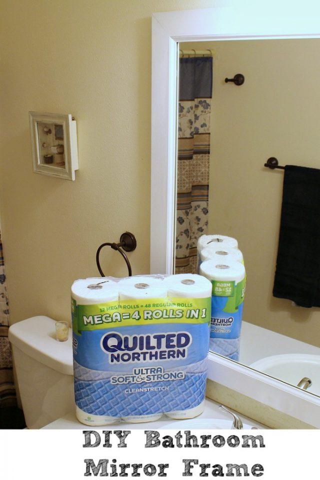 DIY-Bathroom-Mirror-Frame-683x1024