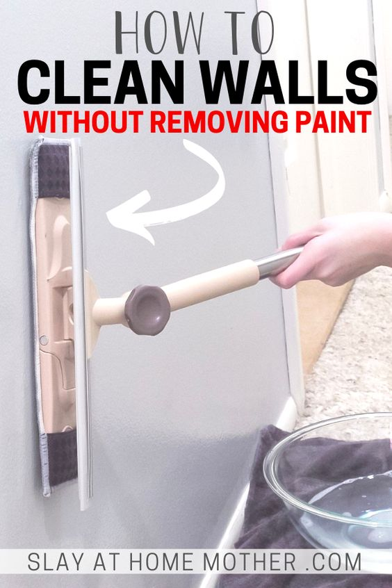 How To Clean Painted Walls Slay At Home Mother