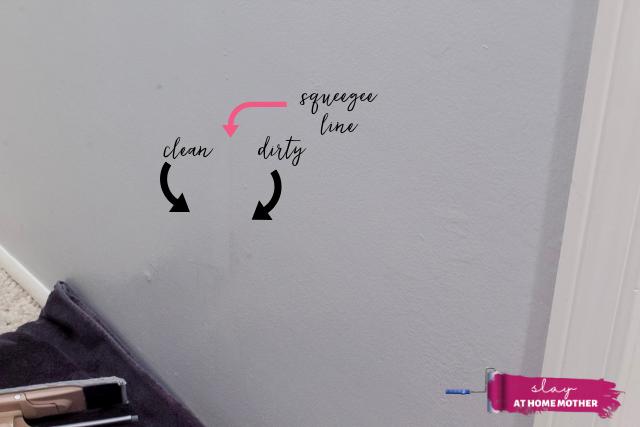 how to clean walls - slayathomemother.com 7