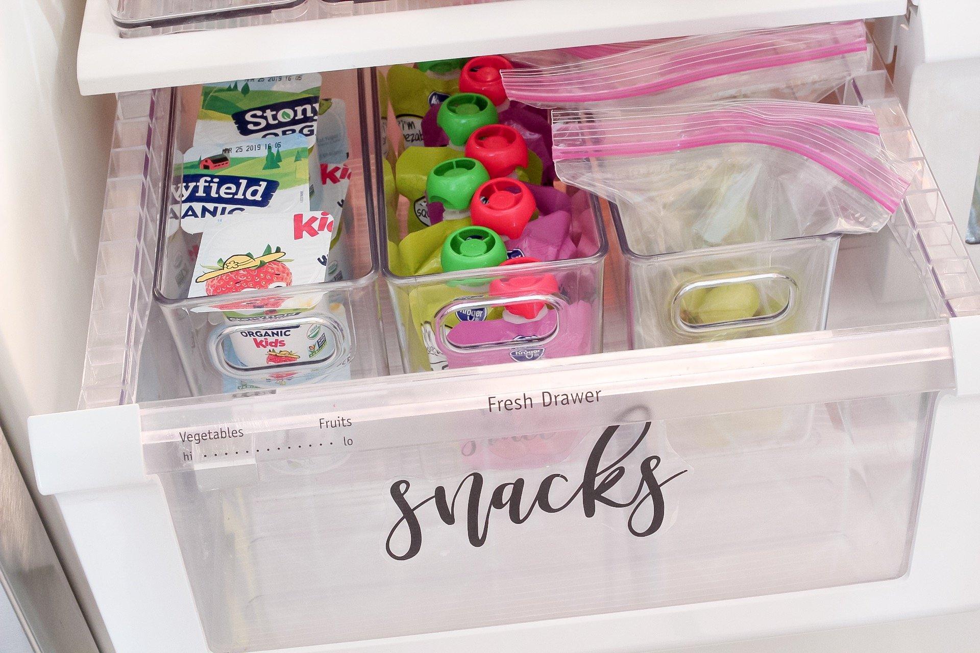 how to organize refrigerator