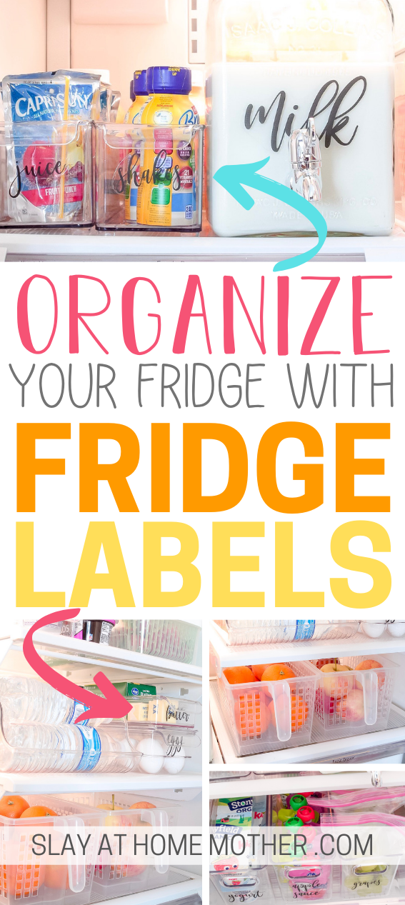 Free Fridge Labels