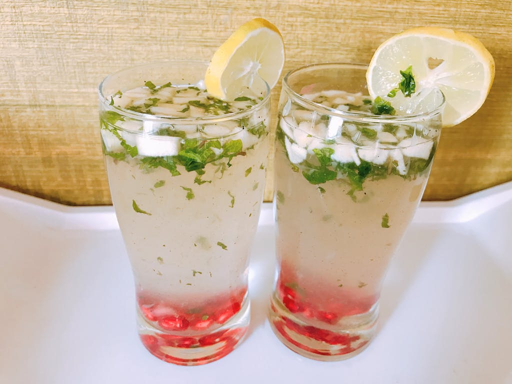 Fruity Mint Lemonade from YourVegRecipe.com