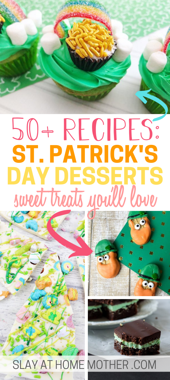 50+ st-patricks-day-desserts you'll love to make!