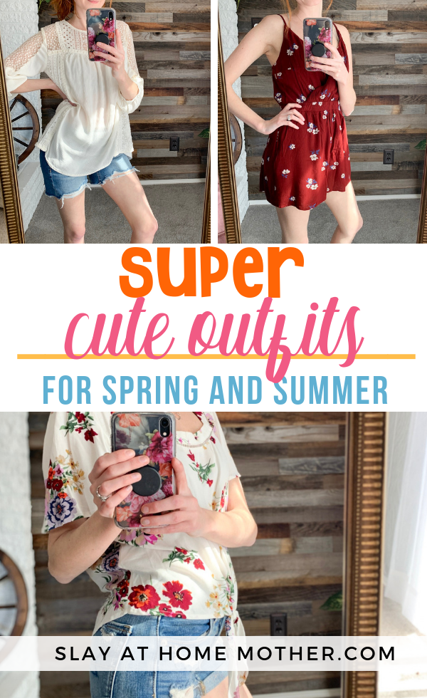 Cute Spring Outfits #spring #slayathomemother #springfashion - SLAYathomemother.com