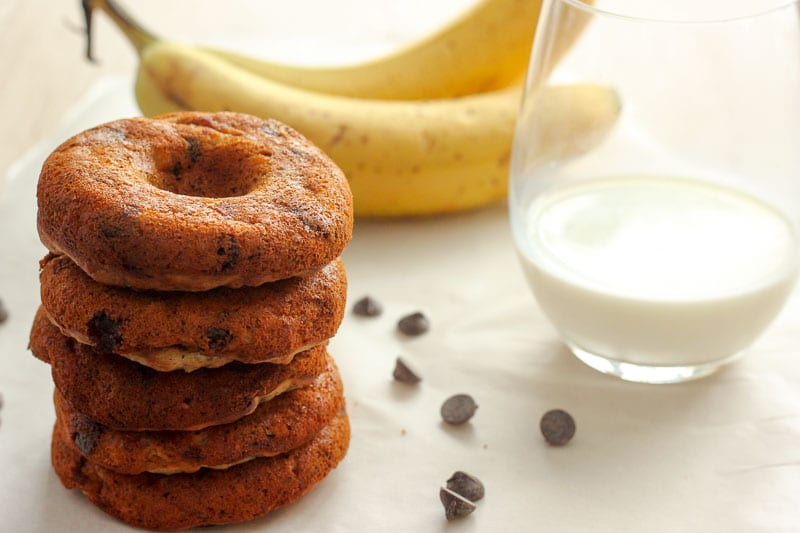 Healthy-Donuts-with-Banana-and-Chocolate-Chips-are-an-easy-treat-for-brunch-or-a-healthy-snack-for-kids