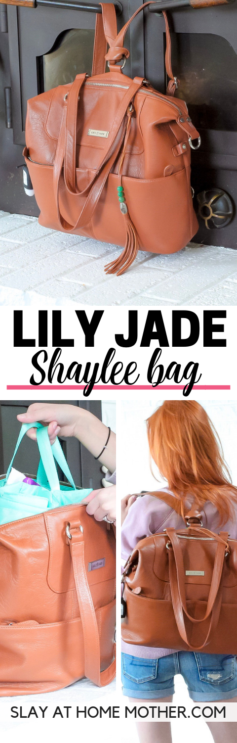 Lily Jade Diaper Bag Review Shaylee - SLAYathomemother.com