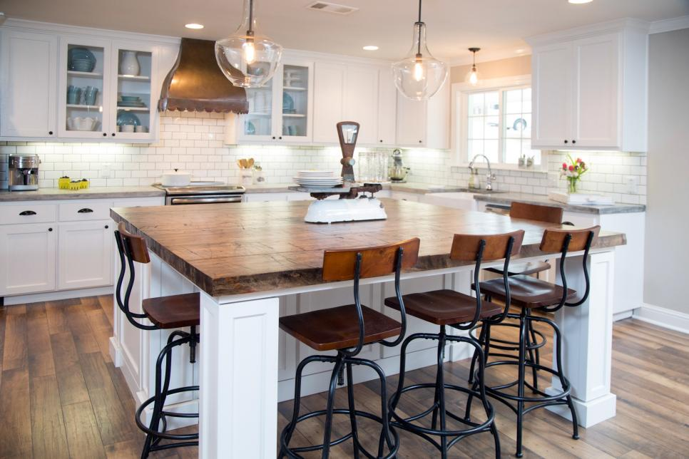 fixer upper kitchens looks for less