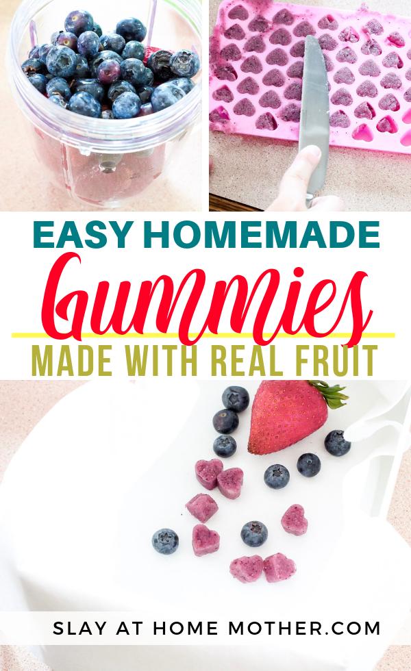 Easy Homemade Gummies Made With Real Fruit #slayathomemother #diy #organic - SLAYathomemother.com