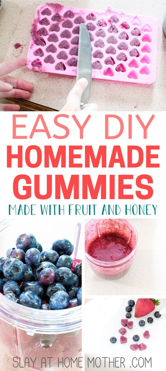 These homemade gummies are healthy, organic, and are a great way to sneak in some much-needed vitamins, minerals, and antioxidants!