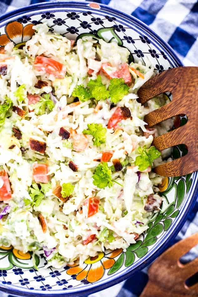 BLT Coleslaw Salad