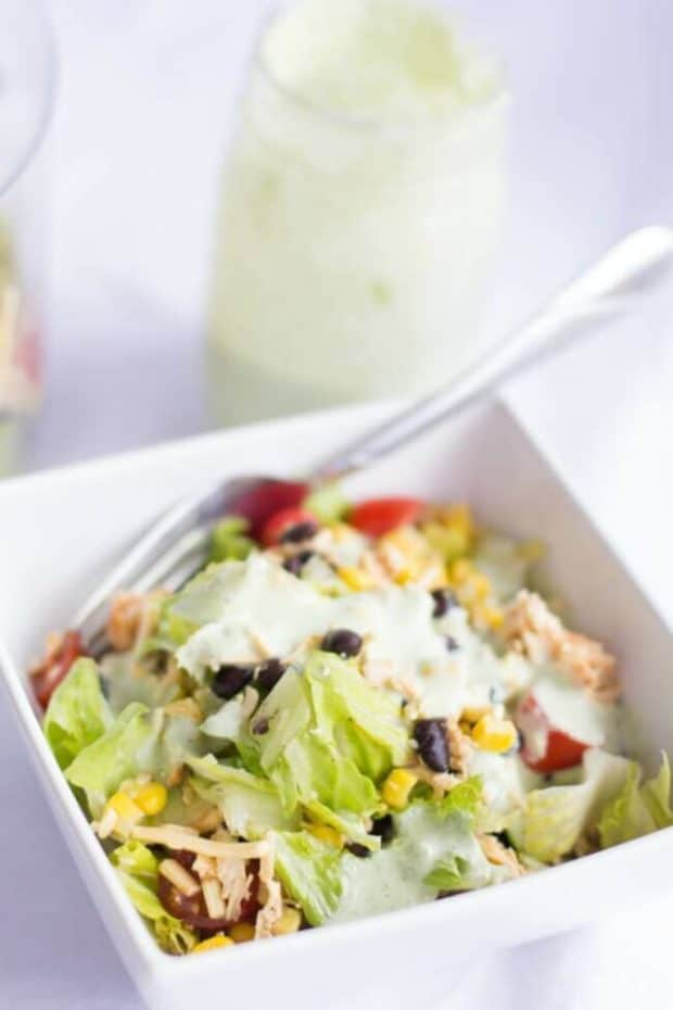 easy mexican layered salad