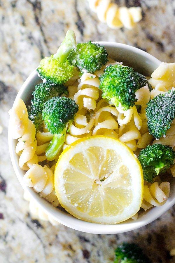 Broccoli Lemon Pasta Salad