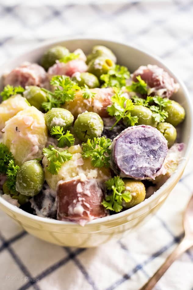Fingerling Potato Salad With Green Olives