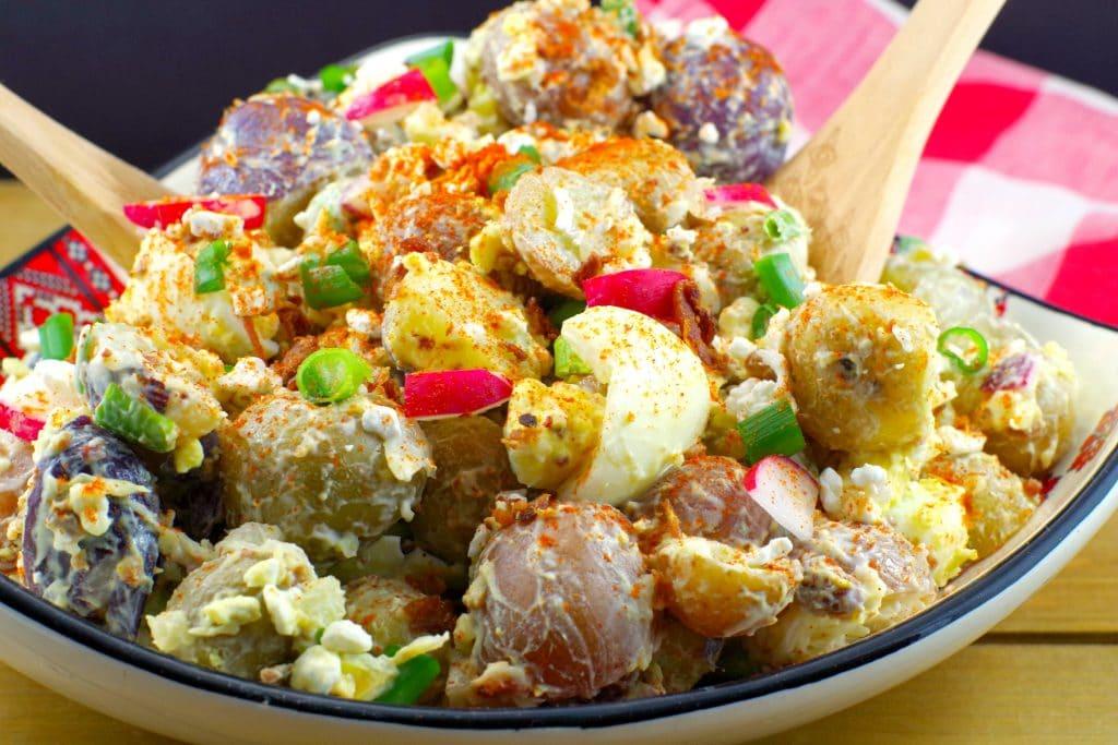 Pierogi Potato Salad