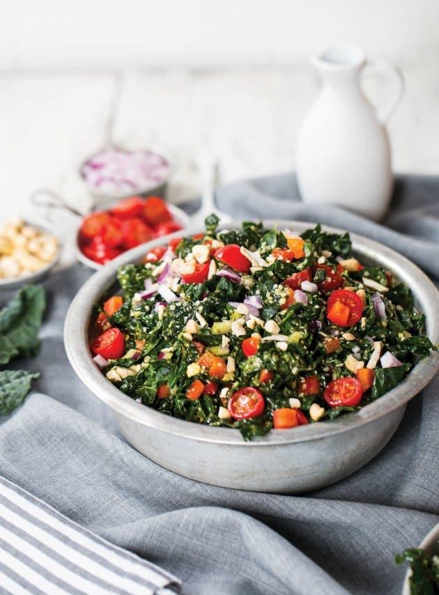 Vegan Token Kale Salad