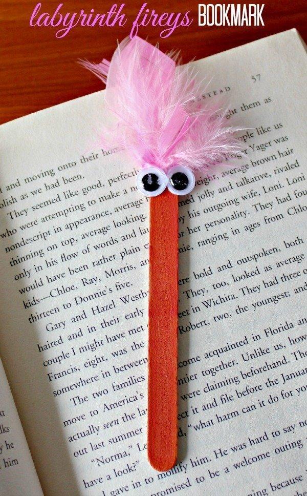 Bookmark Popsicle Stick Craft