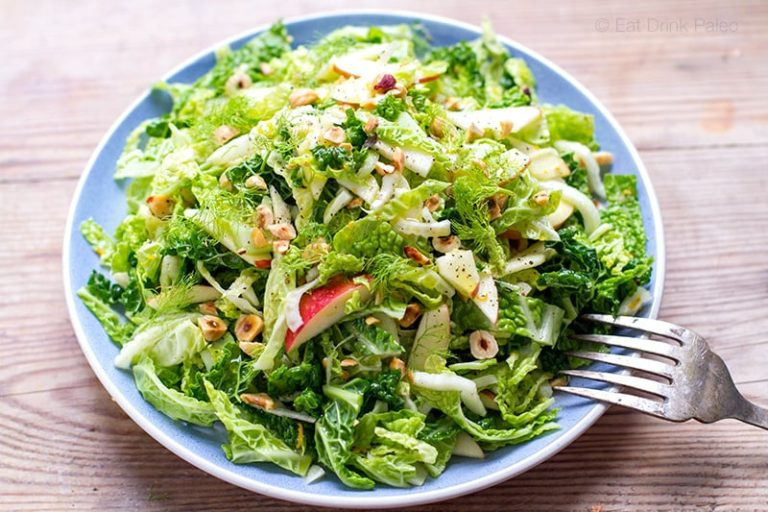 Cabbage Fennel And Apple Slaw