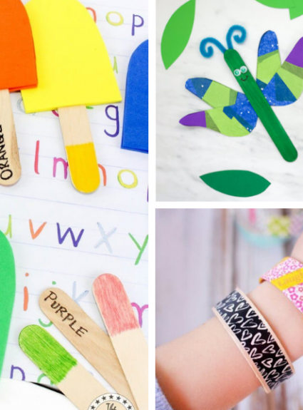17 Easy Popsicle Stick Crafts For Kids